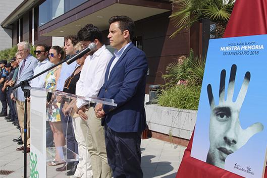Acto homenaje a Miguel Ángel Blanco