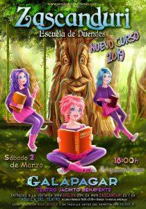 Teatro Musical. Zascanduri. Escuela de Duendes @ Teatro Jacinto Benavente