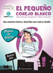 Teatro Musical. El pequeño conejo blanco @ Teatro Jacinto Benavente