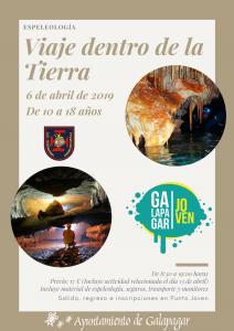 Viaje dentro de la Tierra @ Sacecorbo (Guadalajara)