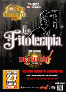 Los Fitoterapia. En esencia Tour. Tributo a Fito y los Fitipaldis @ Teatro Jacinto Benavente