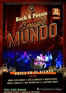 Música y Poesía. IV Encuentro de Rock y Poesía @ Teatro Jacinto Benavente
