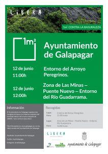 Recogida de basura en el entorno natural @ Entorno del Arroyo Peregrinos